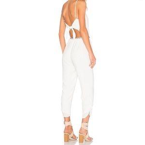 🌟Lovers + Friends white Jumpsuit